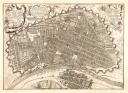 Plano escenográfico de Lima. Antonio de Ulloa, 1748