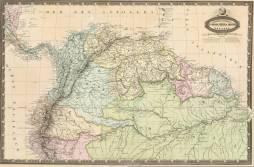Anncienne Colombie et Guyannes. A Garnier 186.
