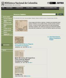 Mapoteca de la Biblioteca Nacional