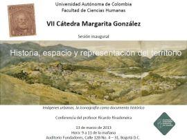 VII Cátedra Margarita González