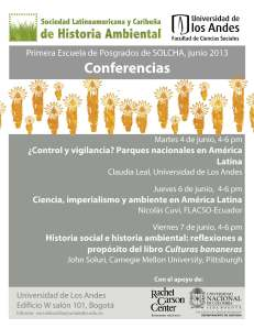 Afiche conferencias SOLCHA