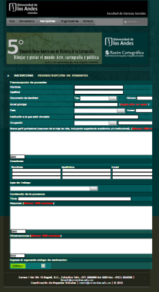 OJO: el formulario funciona mejor en Chrome, Mozila Firefox y Safari