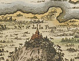 ¡ Identifica en cual mapa Colonial de Cartagena aparece este detalle !