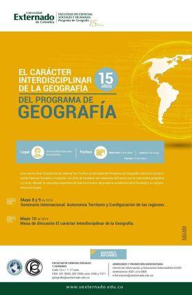 celebracion 15 aniversario geografia externado